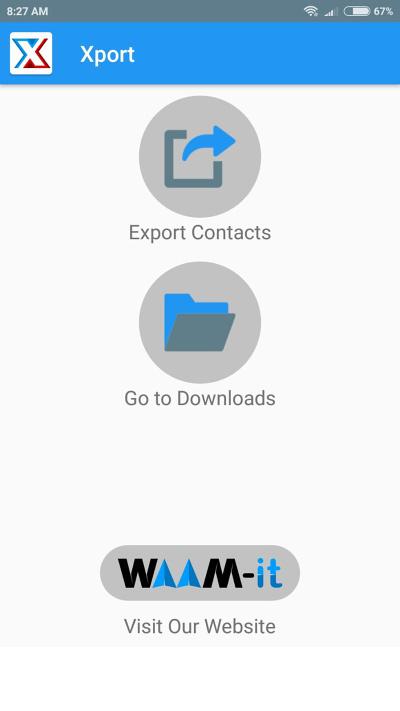 Xport app