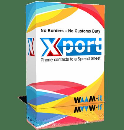 WAAM-it Xport