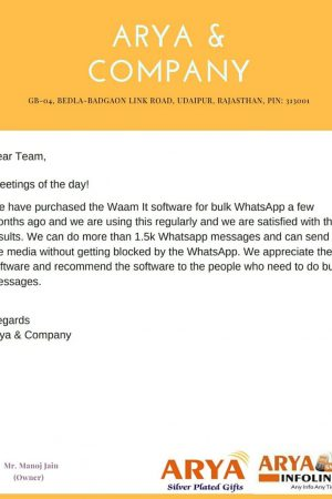 WAAM-it Testimonial